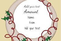 Free Christmas Gift Certificate Template  Customize Online  Download throughout Christmas Gift Certificate Template Free Download
