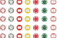 Free Christmas Hershey Kiss Printable  Wwwscrapdiggity with regard to Free Hershey Kisses Labels Template