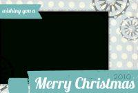 Free Christmas Photo Card Templates  Holidays  Christmas Card with regard to Free Holiday Photo Card Templates