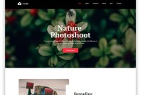 Free Clean Website Templates With Pristine Design   Uicookies inside Blank Html Templates Free Download