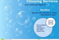 Free Cleaning Flyer Templates – Wfacca intended for Cleaning Brochure Templates Free
