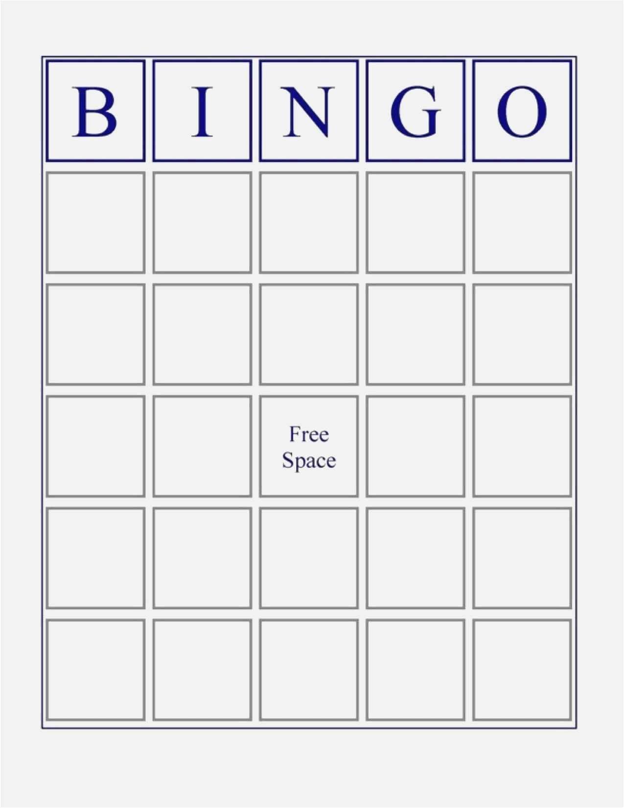 Free Collection Blank Bingo Card Template Microsoft Word Blank Bingo With Bingo Card Template Word