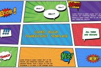Free Comic Book Powerpoint Template For Download  Slidebazaar within Powerpoint Comic Template