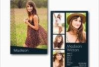 Free Comp Card Template Great Fashion Model P Card V Flyer regarding Free Zed Card Template