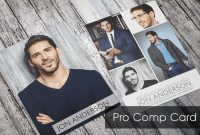 Free Comp Card Template Model Psd Online Microsoft Word Brochure throughout Download Comp Card Template