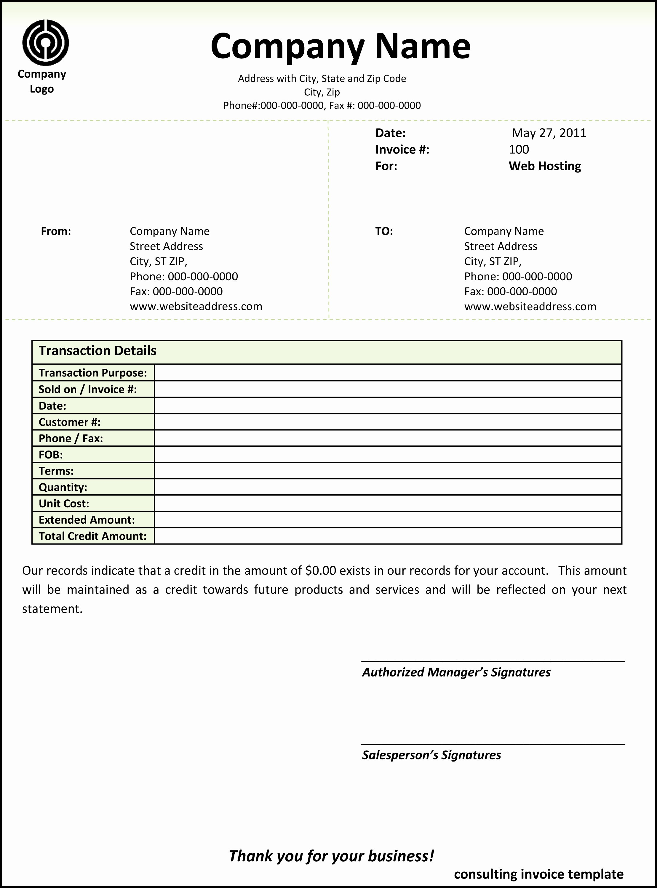 Free Consulting Invoice Template Word Template – Wfacca With Regard To Free Consulting Invoice Template Word