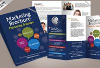 Free Corporate Bifold And Trifold Brochure Templates  Free with Free Online Tri Fold Brochure Template