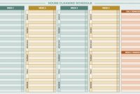 Free Daily Schedule Templates For Excel  Smartsheet in Daily Report Sheet Template