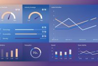 Free Dashboard Concept Slide with Free Powerpoint Dashboard Template