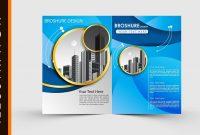 Free Download Adobe Illustrator Template Brochure Two Fold inside Brochure Template Illustrator Free Download