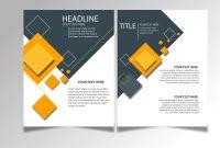 Free Download Brochure Design Templates Ai Files  Ideosprocess regarding Ai Brochure Templates Free Download