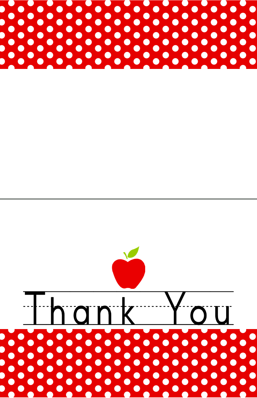 Free Download Teacher Appreciation Week May   Dimple Prints Pertaining To Thank You Card For Teacher Template