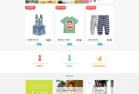 Free Ecommerce Joomla Template Free Download  Joomlamonster within Horizontal Menu Templates Free Download