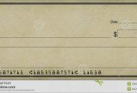 Free Editable Cheque Template Prettier  Blank Cheque Samples  Best with Blank Cheque Template Download Free