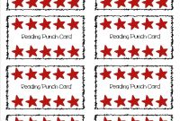 Free Editable Punch Card Template – Gotemplates throughout Reward Punch Card Template