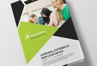Free Educational Brochure Templates Download Readymade Samples throughout Brochure Design Templates For Education