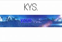 Free Epic Youtube Bannerchannel Art Template  Gimp  Download intended for Gimp Youtube Banner Template