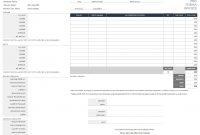 Free Excel Invoice Templates  Smartsheet inside Software Development Invoice Template
