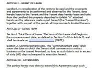 Free Florida Commercial Lease Agreement  Pdf  Word Doc with regard to Commercial Lease Agreement Template Word