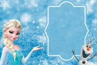 Free Frozen Party Invitation Template Download  Party Ideas And intended for Frozen Birthday Card Template