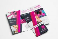 Free Gym  Fitness Trifold Brochure Template For Photoshop  Illustrator intended for Free Three Fold Brochure Template