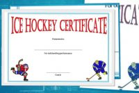 Free Hockey Certificate Templates For Download  Youtube intended for Hockey Certificate Templates