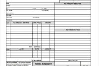 Free Hvac Invoice Template in Air Conditioning Invoice Template