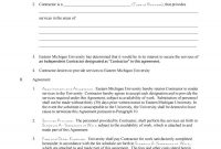 Free Independent Contractor Agreement Forms  Templates inside Market Research Agreement Template