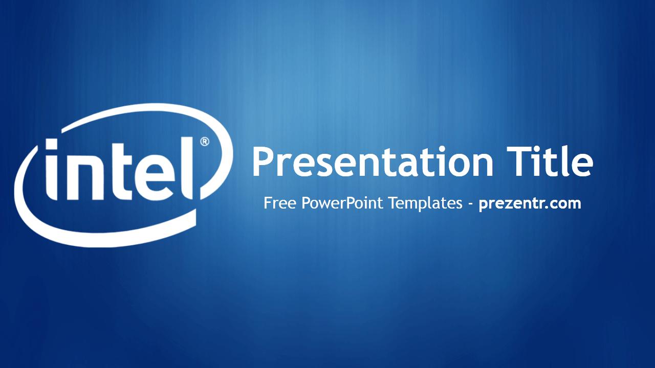 Free Intel Powerpoint Template  Prezentr Powerpoint Templates Intended For Depression Powerpoint Template