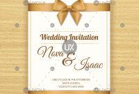 Free Invitation Card Template Ideas Retro Wedding Design Vector with Invitation Cards Templates For Marriage