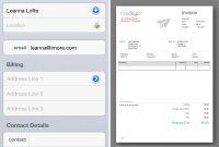 Free Invoice Maker Ipad Template Microsoft Word For App Pro Sample intended for Invoice Template Ipad