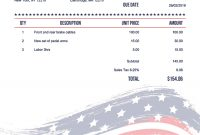 Free Invoice Templates  Print  Email As Pdf  Fast  Secure intended for Invoice Template For Designers