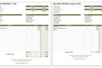Free Invoice Templates  Smartsheet pertaining to Net 30 Invoice Template