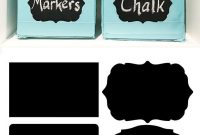 Free Label Templates To Organize Your Craft Room  Hometalk Summer pertaining to Storage Label Templates