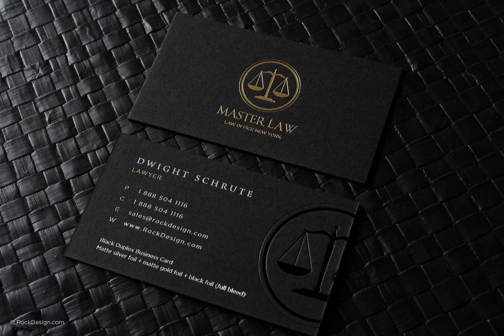 Free Lawyer Business Card Template  Rockdesign For Legal Business Cards Templates Free
