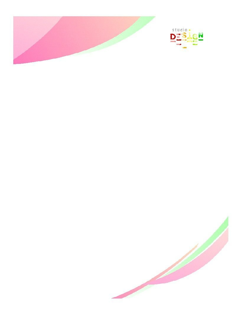 Free Letterhead Templates  Examples Company Business Personal Regarding Free Online Business Letterhead Templates