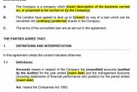 Free Loan Agreement Templates Word  Pdf ᐅ Template Lab in Private Loan Agreement Template Free