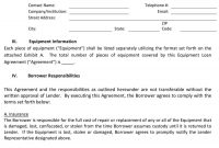 Free Loan Agreement Templates Word  Pdf ᐅ Template Lab with regard to Commercial Loan Agreement Template