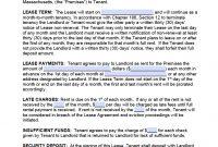 Free Massachusetts Monthtomonth Rental Agreement Template – Pdf – Word regarding Multiple Tenant Lease Agreement Template