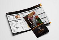 Free Menu Templates Pack Vol  Psd  Ai For Photoshop  Illustrator in Takeaway Menu Template Free