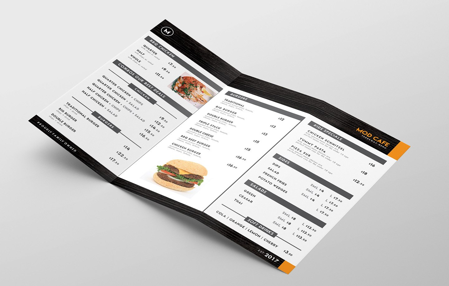 Free Menu Templates Pack Vol  Psd  Ai For Photoshop  Illustrator Intended For Takeaway Menu Template Free