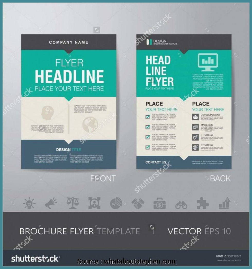 Free Microsoft Office Business Flyer Templates Corporate Flyer Pertaining To Free Business Flyer Templates For Microsoft Word
