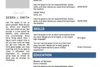 Free Microsoft Word Resume Template — Superpixel pertaining to How To Get A Resume Template On Word