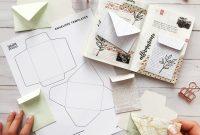 Free Mini Envelope Templates — Sarica Studio in Envelope Templates For Card Making