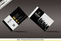 Free Modern Real Estate Business Card Psd Template  Indiater intended for Real Estate Business Cards Templates Free