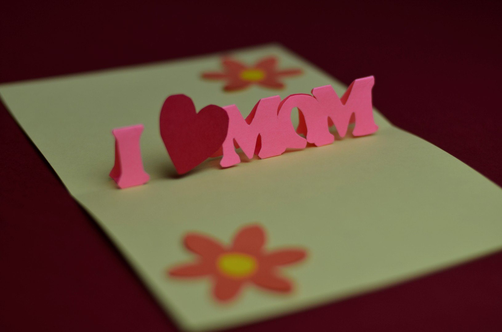 Free Mother's Day Pop Up Card Template And Tutorial  Creative Pop In Templates For Pop Up Cards Free