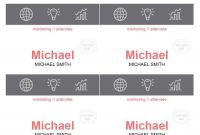 Free Name Tag  Badge Templates ᐅ Template Lab inside Free Name Label Templates