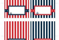 Free Nautical Party Printables From Ian  Lola Designs  Catch My Party regarding Nautical Banner Template