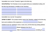 Free New Jersey Residential Lease Agreement – Pdf – Word intended for New Jersey Residential Lease Agreement Template