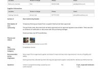 Free Non Conformance Report Template Better Than Pdf And Word Doc in Non Conformance Report Template